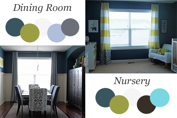 Wondrous Two Rooms Same Colors Different Feel Home Interior And Landscaping Palasignezvosmurscom