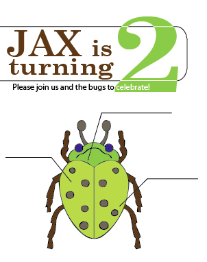 Bug Party Invitation Cover