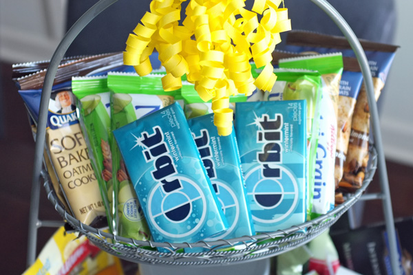 New Mother Snack Basket