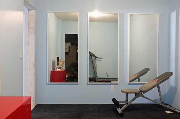 Mirrors for home gym