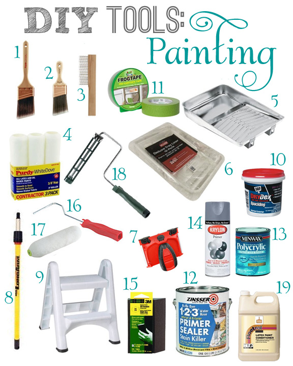 DIY Painting Tools