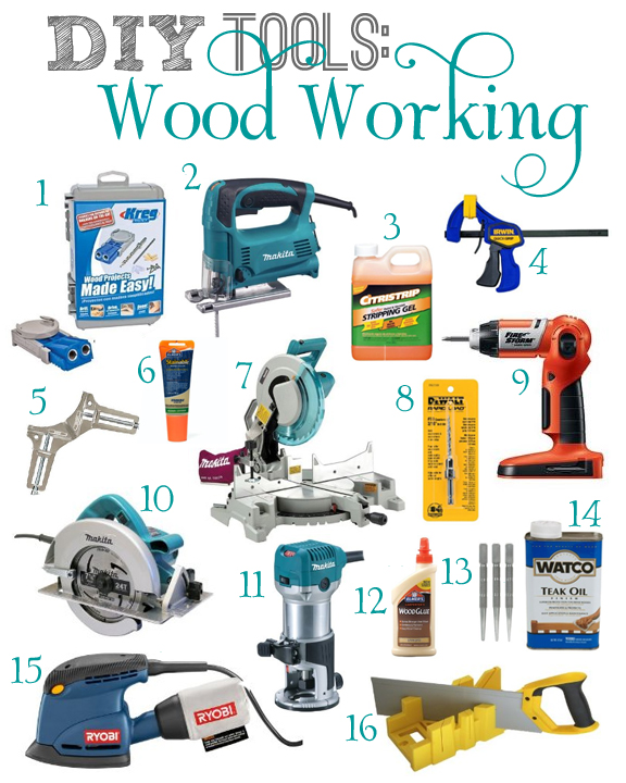 DIY Wood Working Tools