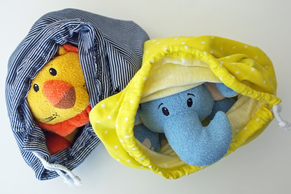 Kids Stuffed Animal Scarves