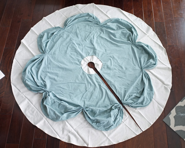 layered tree skirt