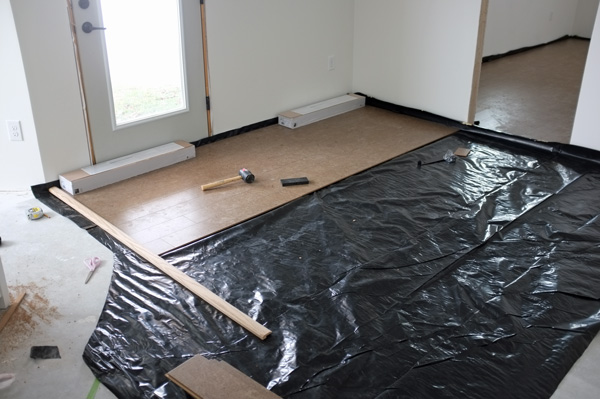 DIY Cork Flooring Install