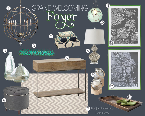 Foyer Mood Board