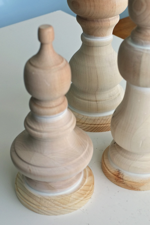 DIY Furniture Feet Finials
