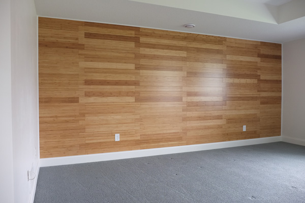 Bamboo Feature Wall