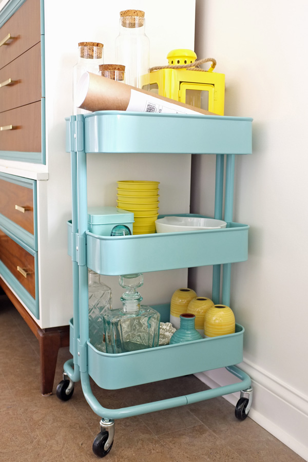 decor holding cart