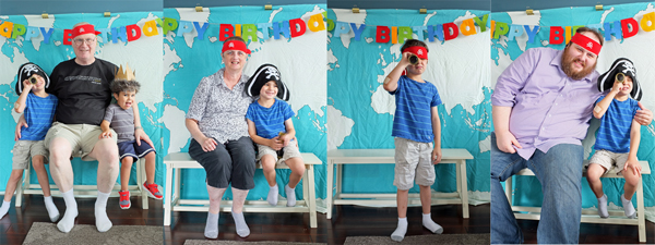 Pirate Party Photo Booth
