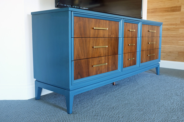 Painted Dresser Modern Media Stand