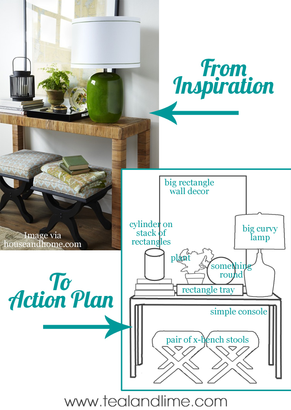From Decorating Inspiration to Action Plan