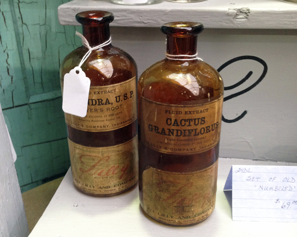 Vintage Apothecary Jars
