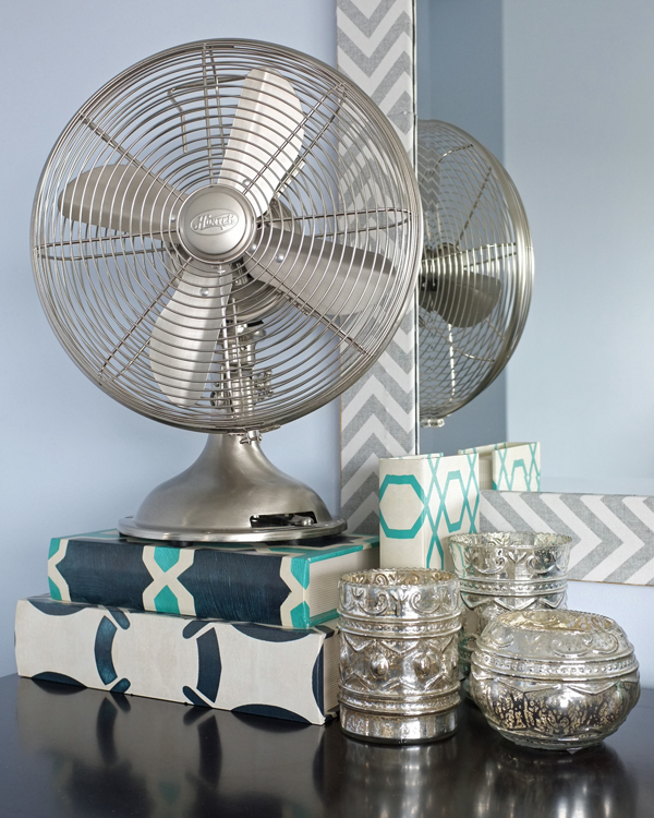 how-to-style-a-dresser-with-a-tabletop-fan