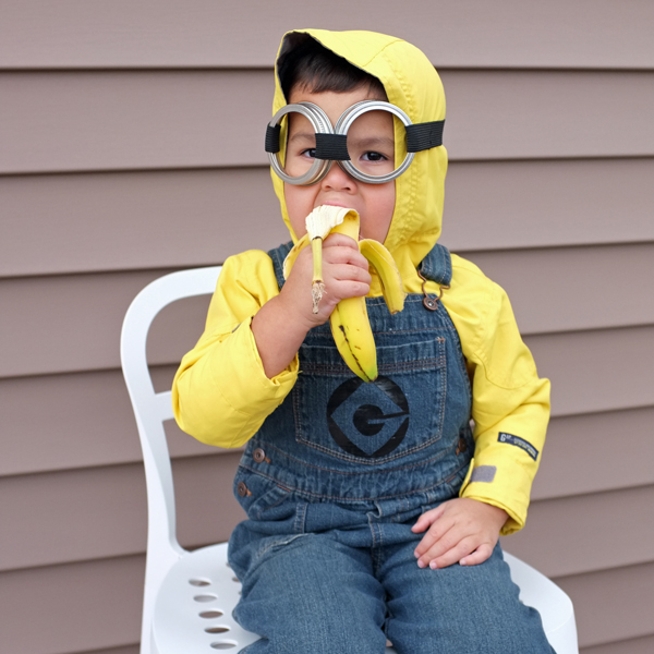 Kids Minion Costume DIY