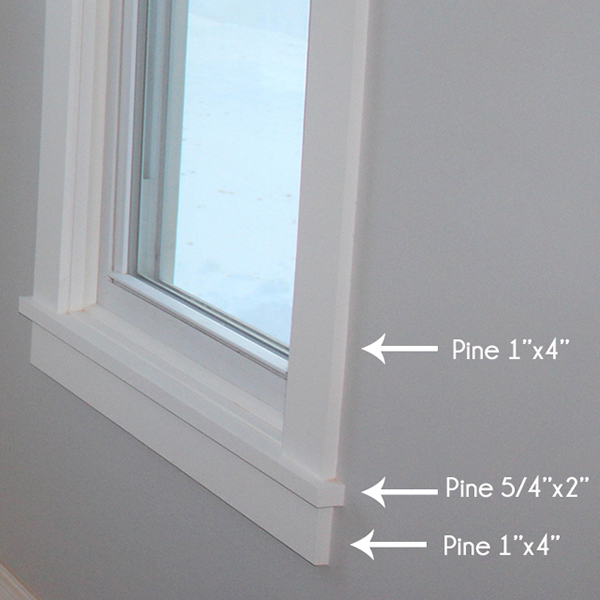 Craftsman Style Window Trim Materials | Home Coming for tealandlime.com
