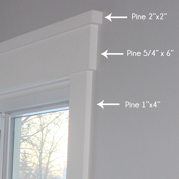 How To Install Craftsman Style Window Trim School Of Decorating