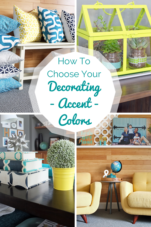 How to Create Your Decorating Accent Color Palette | tealandlime.com