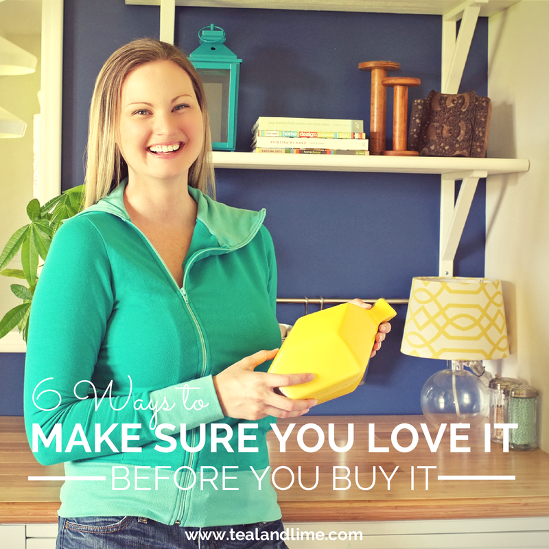Smart Shopping: 6 Ways to Make Sure You Love It Before You Buy It | www.tealandlime.com/stylecrashcourse