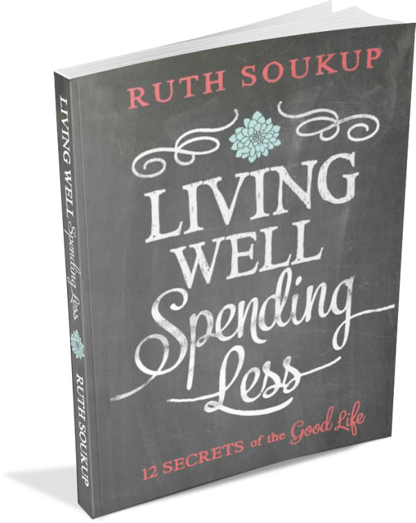 Book Review: Living Well Spending Less | tealandlime.com