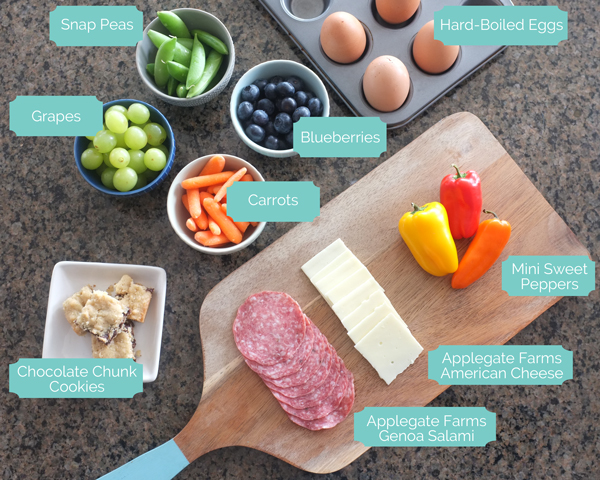 Healthy, bread-less lunch ideas for kids |tealandlime.com