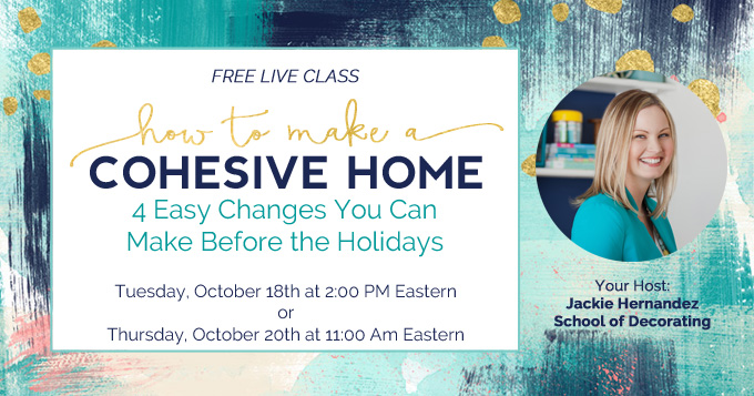 How to Make a Cohesive Home - freeworkshop