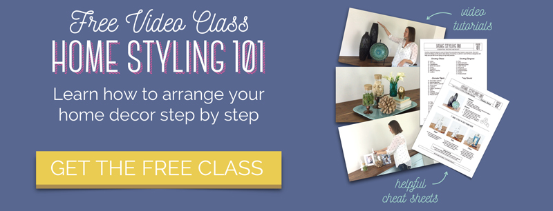 Free Decorating Class: Home Styling 101
