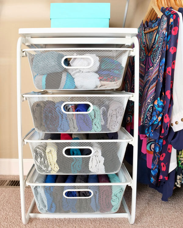 How To Organize Folded Clothes Without Dressers - School of