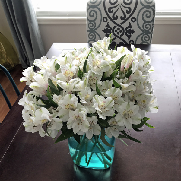 These are the best flowers - they last for weeks and look way more expensive than they are!