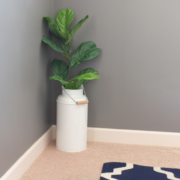 Faux fiddle leaf fig stem