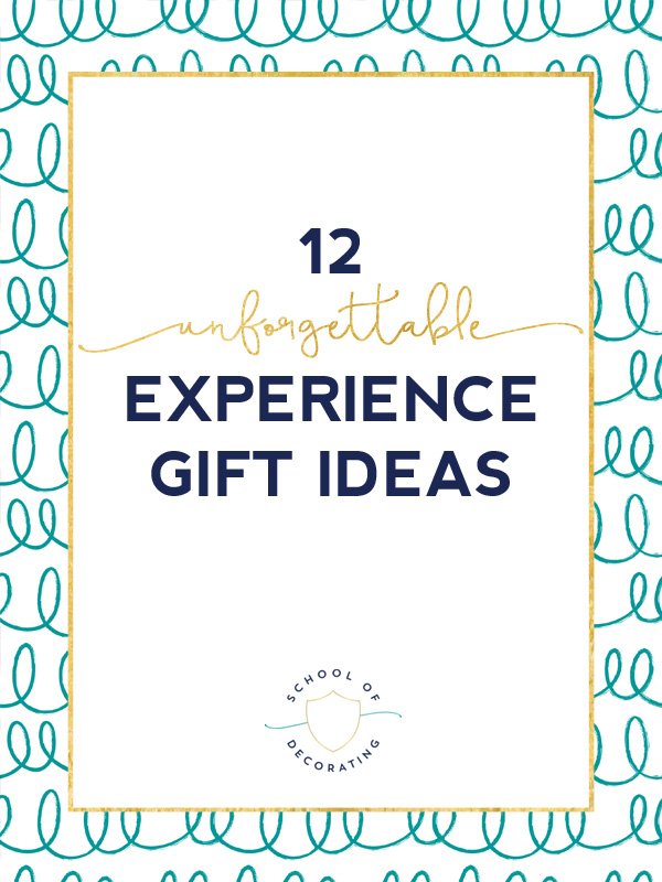 12 Unforgettable Experience Gift Ideas