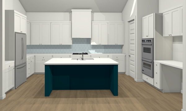 New House: The Kitchen Design - School of Decorating