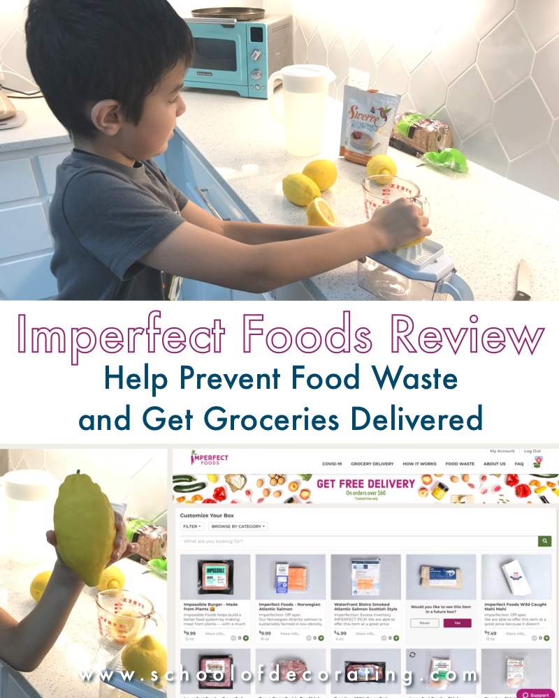 Imperfect Foods Review - Help prevent food waste and get fresh groceries delivered