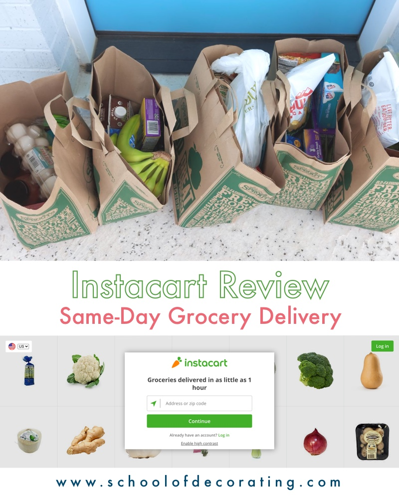 Instacart Review - How to get same-day grocery delivery