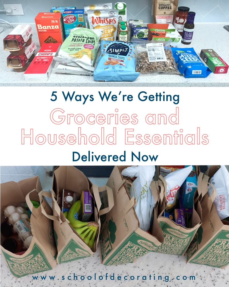Online grocery delivery reviews - 5 ways we're getting groceries and household essentials delivered now